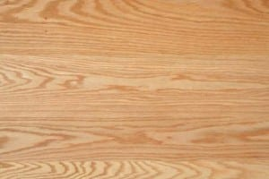 Plain sawn Red Oak flooring with cathedral grain pattern.