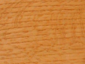 Red Oak quarter and rift sawn showing medullary fleck.