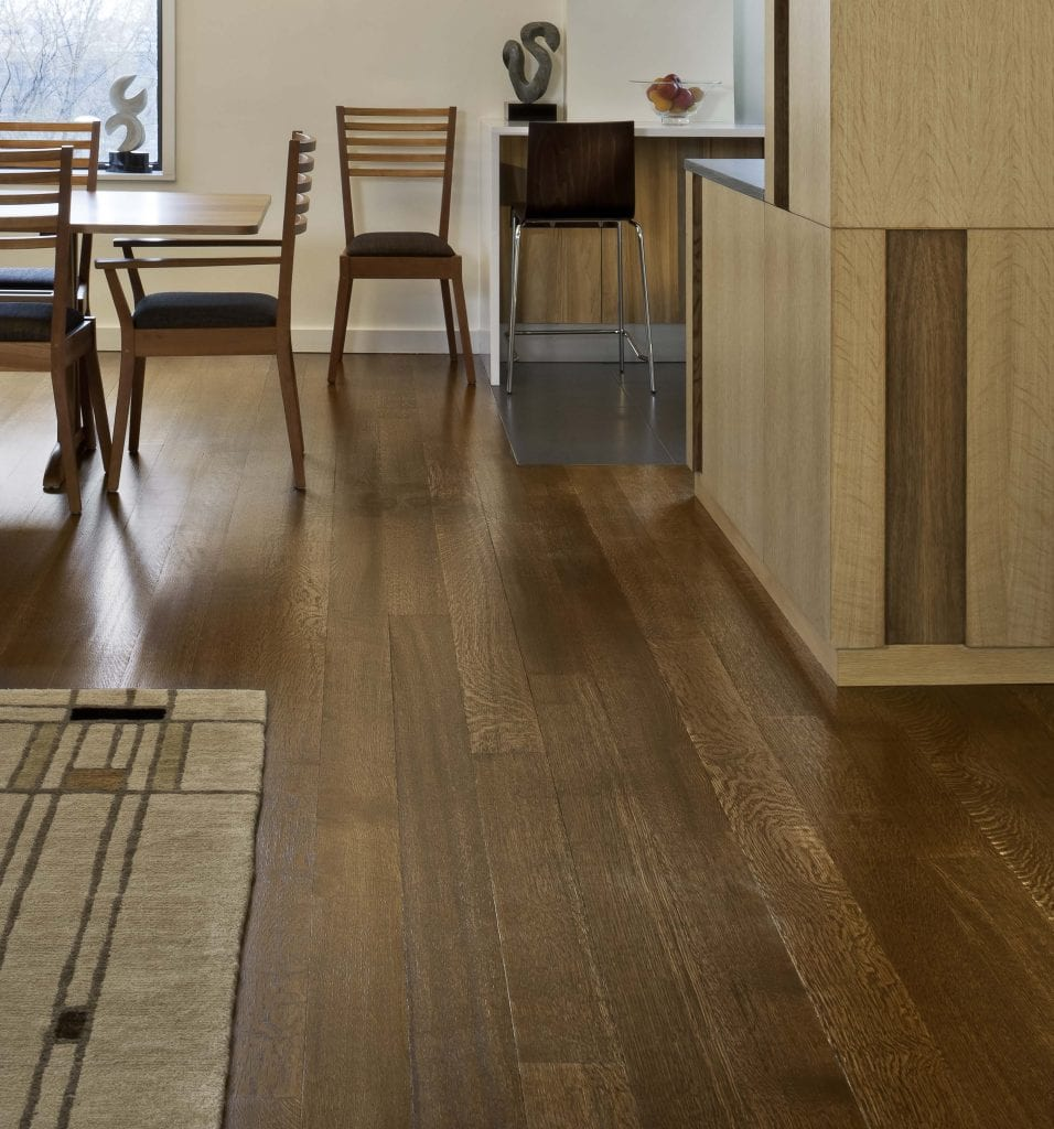 White oak wide plank floors for Wide plank wood flooring