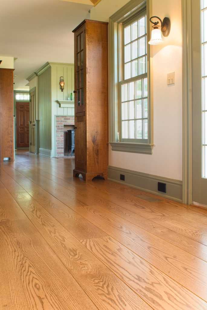 Oak Hardwood Flooring ~ Oak wide plank flooring