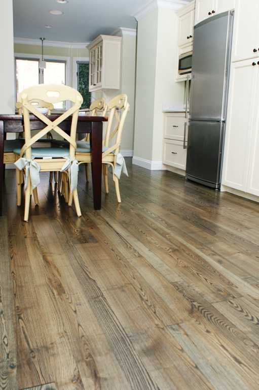 Wood floors for kitchens for Color of hardwood floors