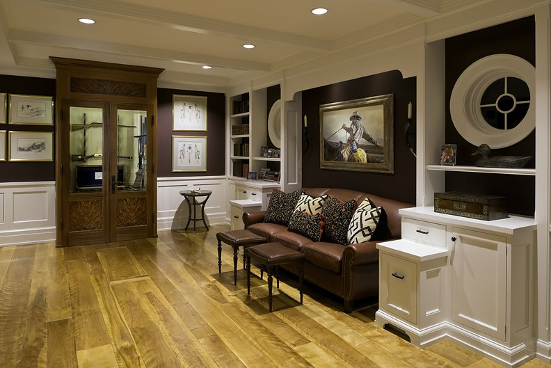 wide plank curly birch wood flooring from hull forest products
