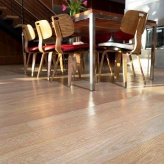 White Oak Wide Plank Flooring Select