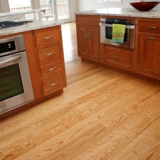 Red Oak Flooring - Select Grade - Curly