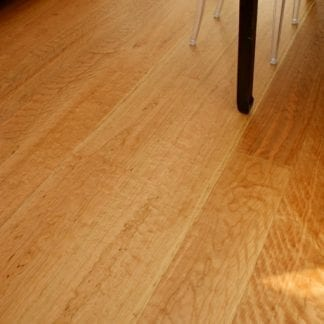 Curly Cherry Wide Plank Flooring - Select