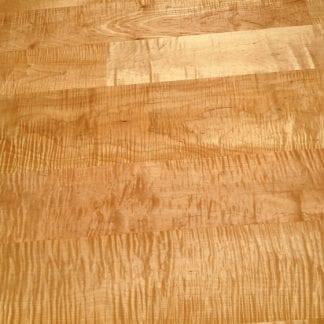 Curly/Tiger Maple Flooring - Premium