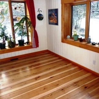 Hickory Flooring - Rift and Quarter Sawn