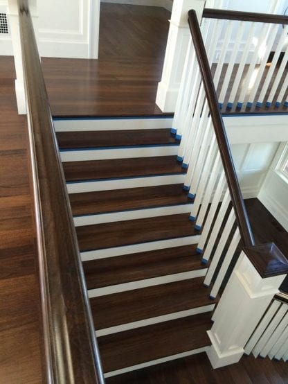 walnut stair treads